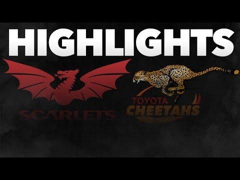 Guinness PRO14 Round 5: Scarlets v Toyota Cheetahs Highlights