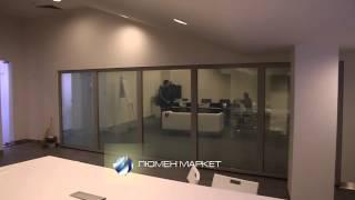 Смарт стекло в компании Huawei - перегородка с умным стеклом