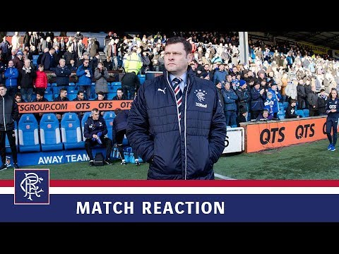 REACTION | Graeme Murty | Kilmarnock 2-1 Rangers
