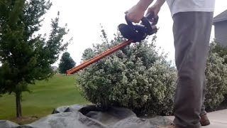 WORX CORDLESS HEDGE TRIMMER REVIEW