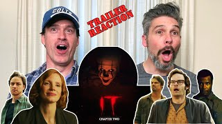 IT Chapter 2 Official Trailer REACTION!!!