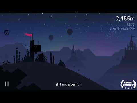 Alto's Odyssey | Slide on a water stream | Smash 2 pots in one run | Find a Lemur