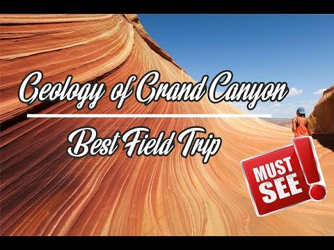 How Geologist Explain GRAND CANYON ? Definition & Examples for stratigraphy and sedimentology