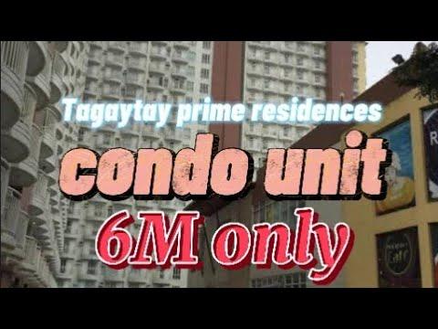 for sale Tagaytay prime residences  56sqm condo unit.