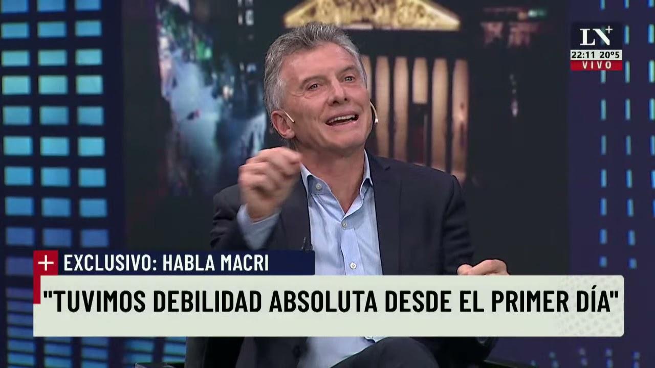 Exclusivo. Entrevista Mauricio Macri en LN+