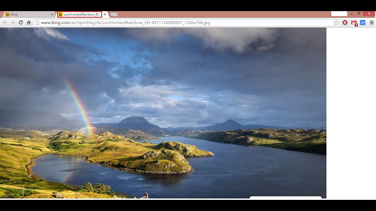 Save Bing(search engine) Images. - YouTube
