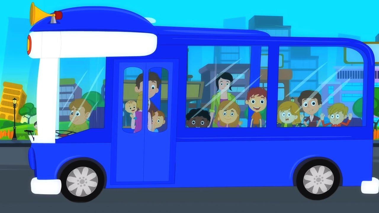 Rodas do ônibus | Musica infantil portuguesa | Animação | Desenhos animado | Poemas para crianças