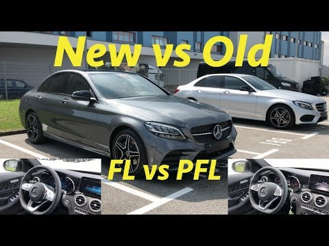 Mercedes C Class 2019 FL vs PFL what's the difference?