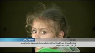 اشتداد المعارك بين القوات العراقية وتنظيم داعش في محيط جامع النوري غربي الموصل