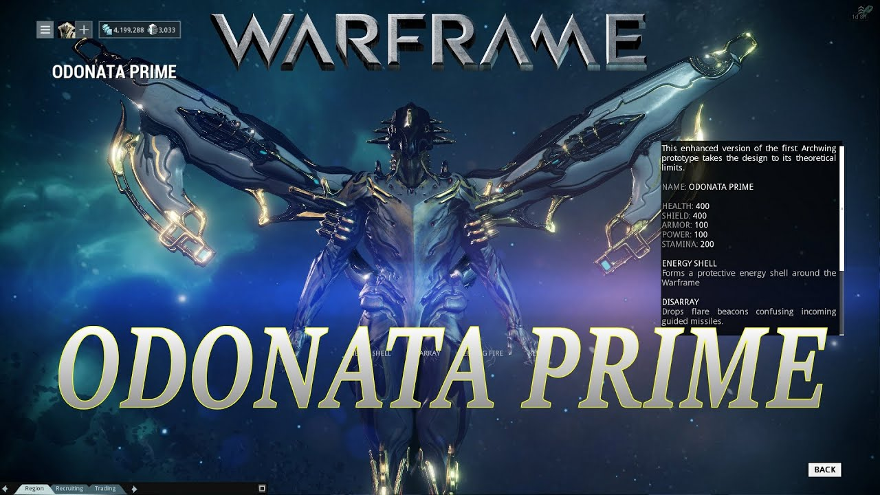 Warframe Archwing User Guide | Warframe Plains of Eidolon ...