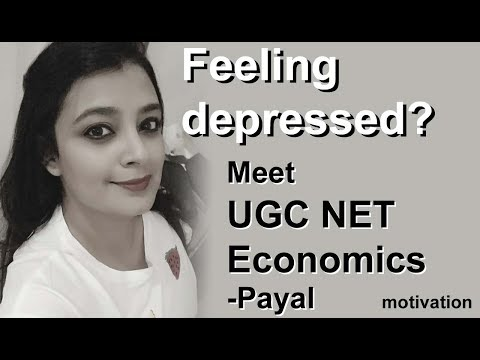 UGC NET Economics motivational video  - Meet Payal