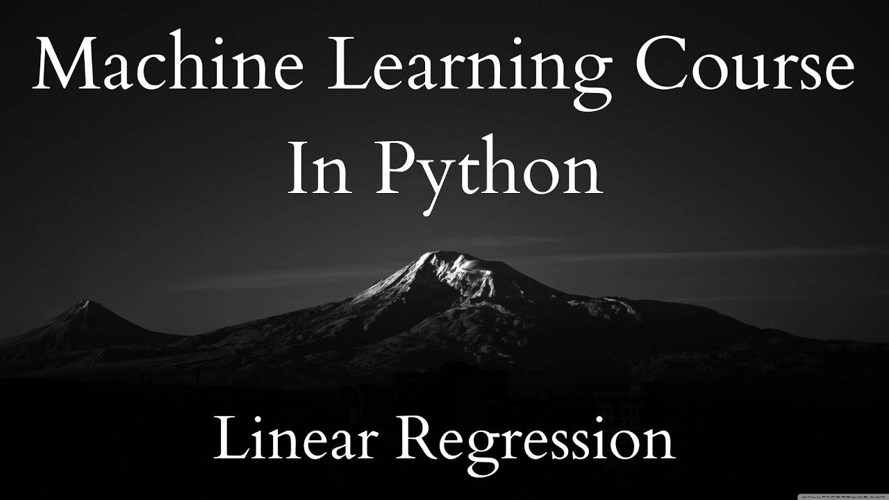 Regression - Mean Squared Error | ML Course 2.1
