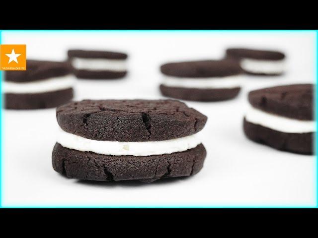 Как сделать печенье ОРЕО - очень простой рецепт / OREO рецепт без яиц