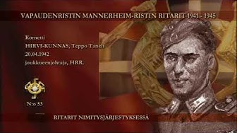 Mannerheim-ristin ritarit nro:t 41 - 60