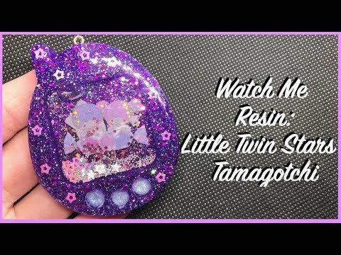 Watch Me Resin: Little Twin Stars Tamagotchi