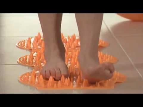 Lúdtalp (lapos láb) torna, lábtorna gyerekeknek - DinoPAD - bokasüllyedés ellen