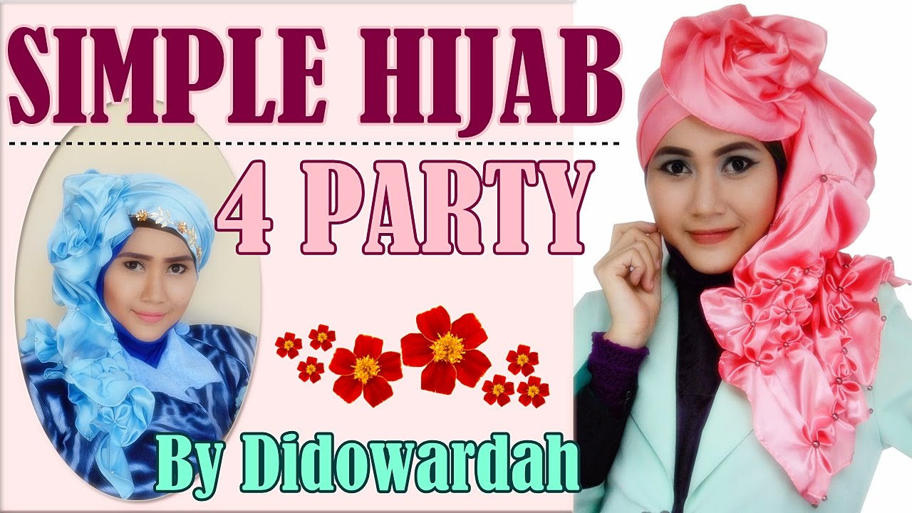 Hijab Pashmina Simple Untuk Pesta 65 YouTube