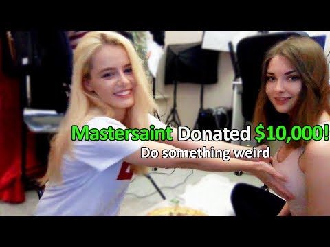 I Donated $10,000 to Girl Streamers to Do This...