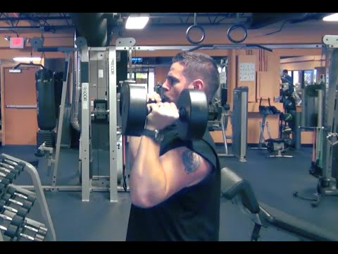 Dumbbell Overhead Press - Why STANDING Is Better