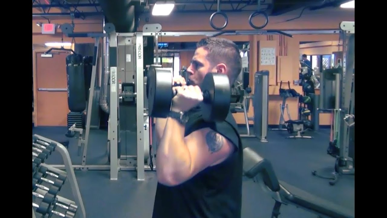 The 8 Best Shoulder Exercises - As Recommended By Ryan Terry