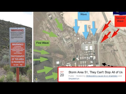 Half A Million People Are Planning To Storm Area 51