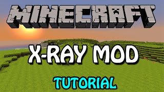Minecraft 1.8.3: X-Ray Mod Tutorial (Download + Installation)