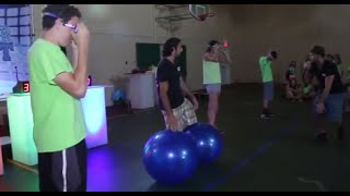 GAME SHOW PHYSICAL CHALLENGE: MUSICAL BALLS