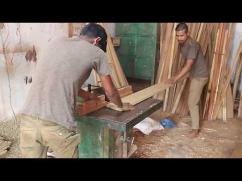 Woodworking Techniques and Skills by machine।। Uttara Dhaka।। Small Wood Cutting in BD Saw