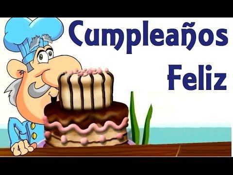 CUMPLEAÑOS  FELIZ. - Canciones infantiles