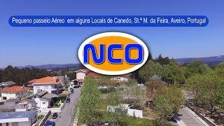Canedo, Santa Maria da Feira, Aveiro, Portugal, Visto do Céu