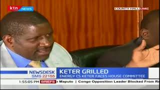 MPs grill CS Charles Keter over Salai Dam Tragedy