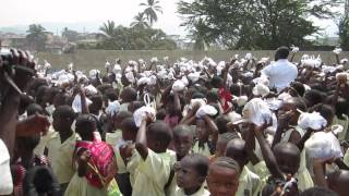 Hope for Lives in Sierra Leone - Bobby Smith visits his old school