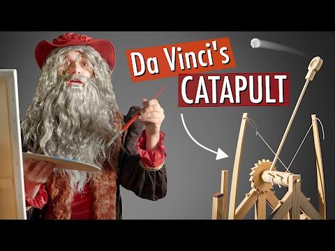 Build Da Vinci's Catapult