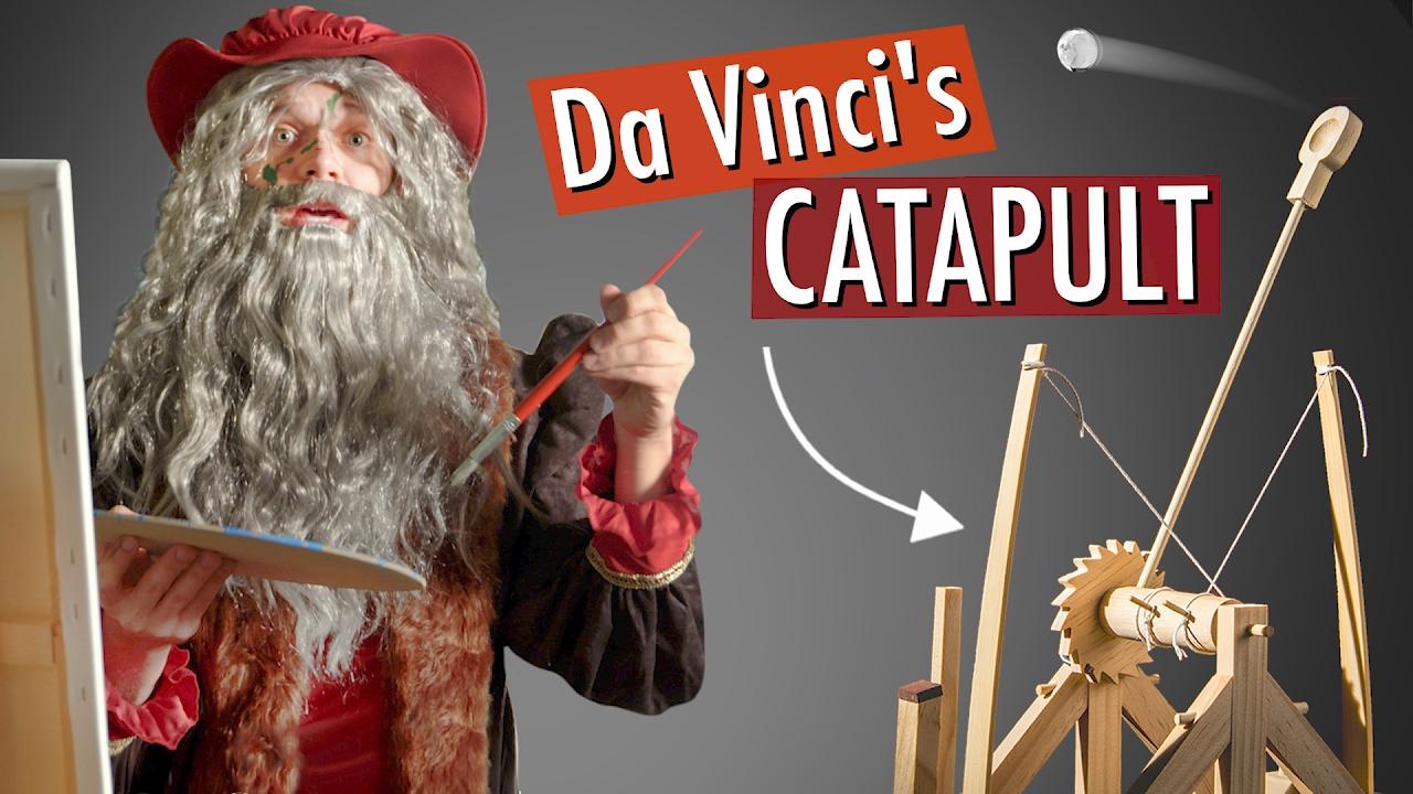 how to make da vinci catapult