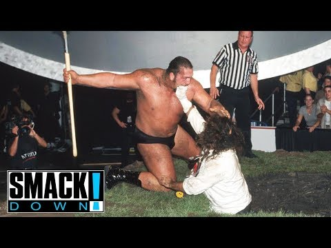 FULL MATCH - Undertaker & Big Show vs. Rock & Mankind - Buried Alive Match: SmackDown, Sept. 9, 1999 thumbnail