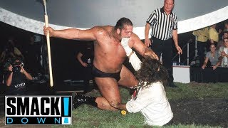 vuclip FULL MATCH - Undertaker & Big Show vs. Rock & Mankind - Buried Alive Match: SmackDown, Sept. 9, 1999