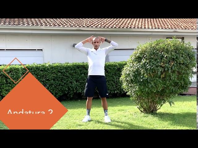 Circuito di 4 andature adatte a chi pratica jogging e running