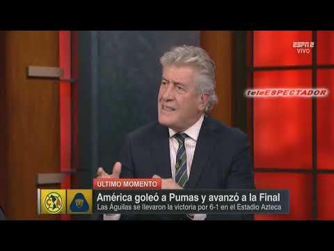 (1/2) Analisis del AMERICA vs PUMAS - Semifinal Vuelta Apertura 2018 - Futbol Picante