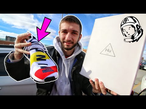 BUYING the PHARRELL NMD HUMAN RACE at the RELEASE! NO ONE WANTS THESE SNEAKERS?! Mp3