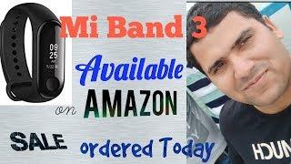 #Mi Band 3 sale on Amazon today#