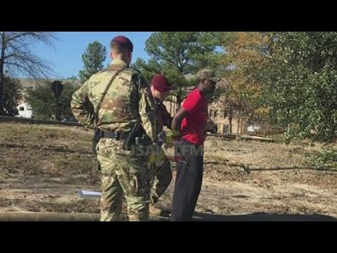 Civilian discovered living in barracks at Fort Bragg