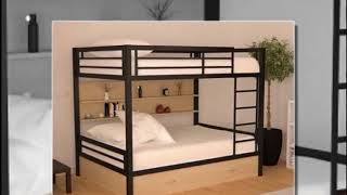 COOL Metal bunk beds twin over full