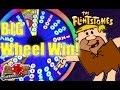 The Flintstones slot machine - Wheel Bonus Big Win! ♠ SlotTraveler ♠