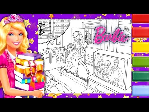 Barbie Coloring Pages (300+ Free Sheets For Girls) | 360x480