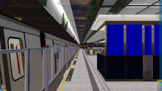 OpenBve ISL night m train hfc to chw