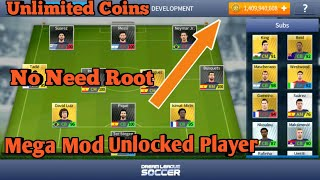 How To Download Dream League Soccer  Mega Mod Unlimited Coins And Unlocked Players/ No Need Root