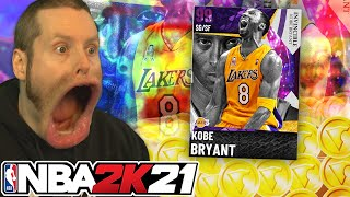 Streaming until I pull INVINCIBLE Kobe Bryant. NBA 2K21