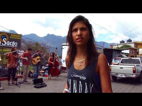 Groovy street scene on Lake Atitlan, Guatemala (San Pedro)