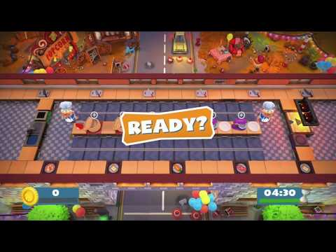 Overcooked 2 Carnival of Chaos Kevin 2 - 1 Player Solo 4 Stars |