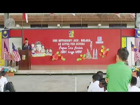Program Ceria Merdeka 2017 SMK Methodist ACS Melaka